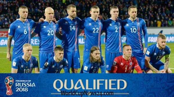 2018 world cup Iceland 23 player list, squad & match details
