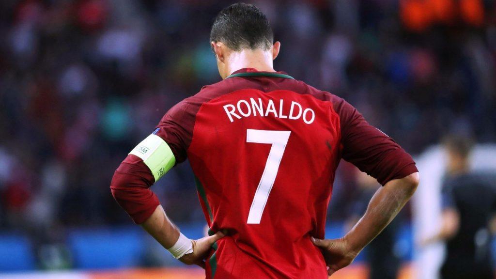Portugal football player Cristiano Ronaldo HD Wallpaper 2018