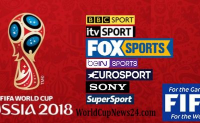 FIFA World Cup 2018 Football match broadcaster/TV channel List