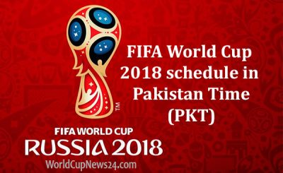 Watch FIFA World Cup 2018 schedule in Pakistan Time (PKT), TV info