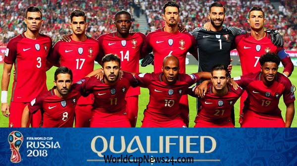 Portugal team squad for world cup 2018