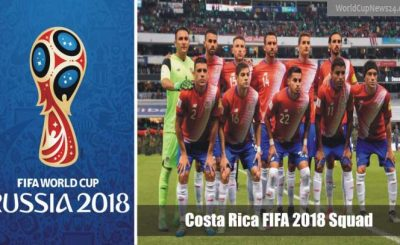 World Cup 2018 Costa Rica full Squad