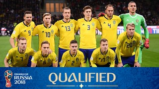 World Cup 2018 Sweden full Squad