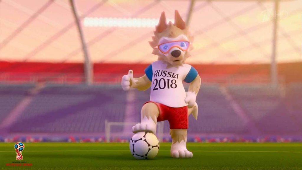 Zabivaka FIFA World Cup 2018 official Mascot HD Wallpaper