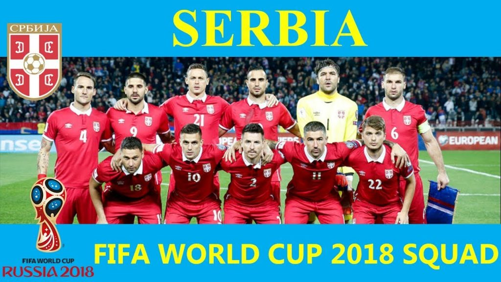 2018 FIFA World Cup Serbia Squad, Schedule & Players info