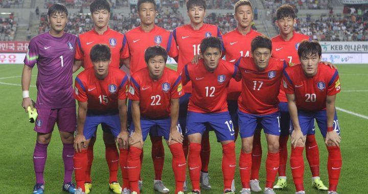 Watch FIFA World Cup 2018 South Korea football match & Player list
