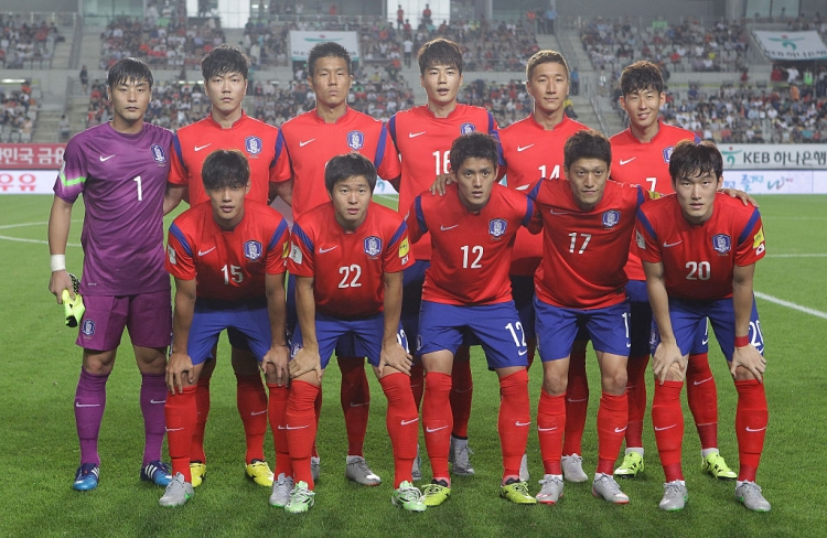 FIFA World Cup 2018 South Korea final 23 Man squad