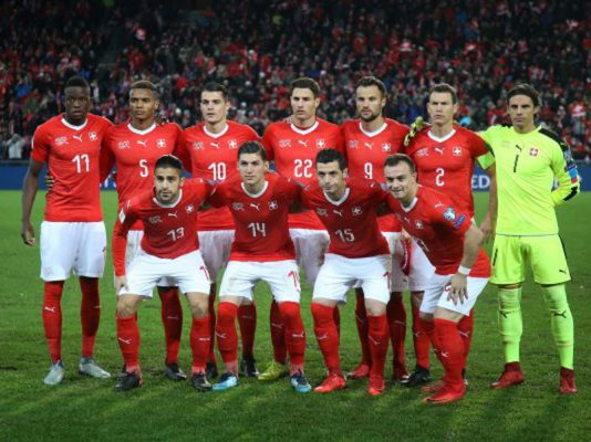 World Cup 2018 Switzerland Squad, Schedule, Ranking & history