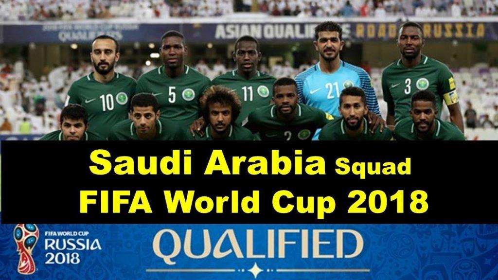 Saudi Arabia Final Squad FIFA World Cup 2018, player & match info